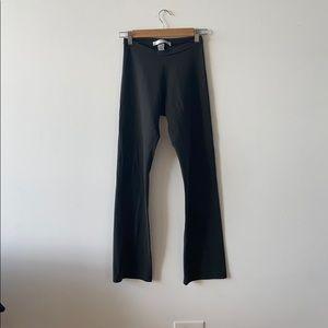 Susana Monaco green grey brown leggings